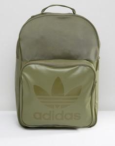 Спортивный рюкзак оливкового цвета adidas Originals BK6789 - Зеленый