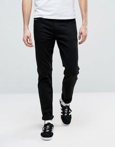 Черные узкие джинсы Calvin Klein Jeans - Черный