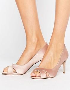Туфли на среднем каблуке ASOS SAGE - Бежевый