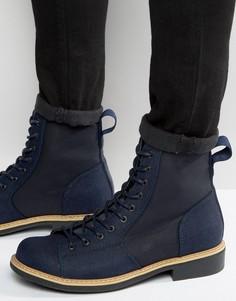 Джинсовые ботинки G-Star Roofer - Темно-синий