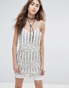 Платье с отделкой Raga Mystic Moon - Кремовый