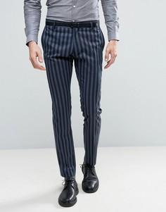 Зауженные брюки Selected Homme - Темно-синий