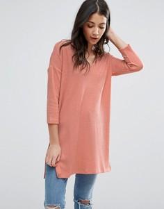 Удлиненный джемпер Vero Moda - Розовый