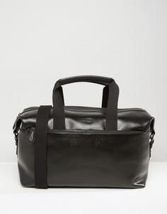 Кожаная сумка Ted Baker - Черный