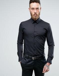 Супероблегающая строгая рубашка Noose & Monkey - Черный