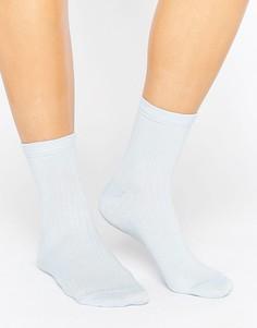 Носки в рубчик ASOS - Синий
