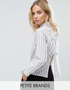 Рубашка с бантом на спине Miss Selfridge Petite - Мульти