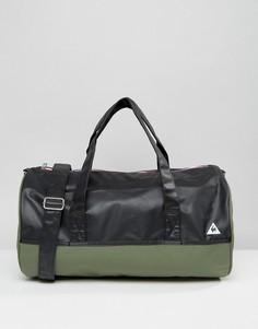 Дорожная сумка цвета хаки Le Coq Sportif - Мульти