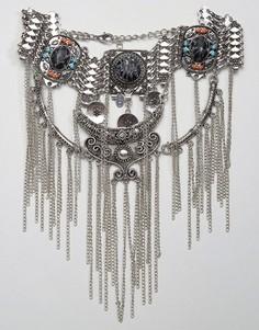 Ожерелье с цепочками в несколько рядов ALDO - Серебряный