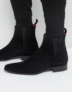 Замшевые ботинки челси Jeffery West Yardbird - Черный