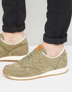 Кроссовки в стиле 70-х New Balance Running 420 U420NOT - Зеленый
