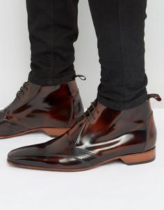 Ботинки чукка с перфорацией Jeffery West Escobar - Коричневый