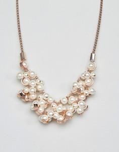 Ожерелье с жемчугом Coast - Розовый