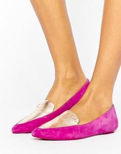 Туфли с острым носком Ted Baker - Розовый