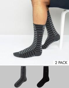 2 пары носков в полоску Tommy Hilfiger Fast Track - Черный