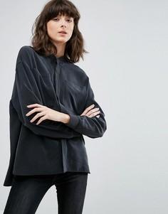Рубашка в стиле куртки-пилот Weekday - Черный