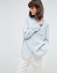 Джинсовая рубашка Weekday - Синий