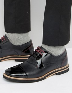 Черные кожаные туфли Ted Baker Braythe 2 - Черный
