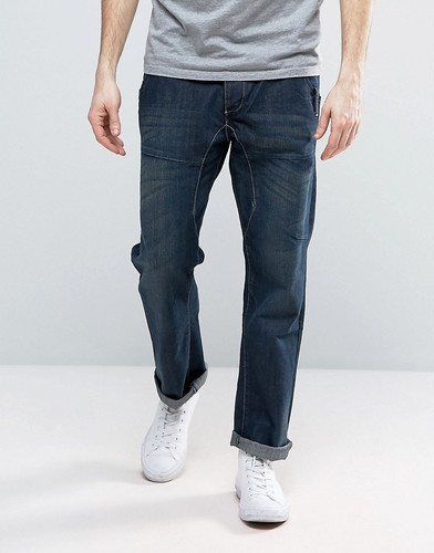 Свободные джинсы Brave Soul - Синий