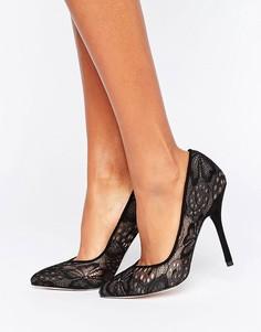 Черные кружевные туфли-лодочки Paper Dolls - Черный
