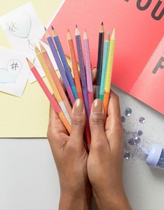 Набор цветных карандашей NPW Unicorn - Мульти