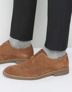 Замшевые туфли дерби Jack & Jones Billy - Рыжий