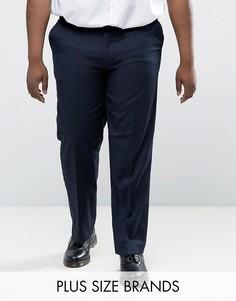 Темно-синие брюки Duke PLUS - Темно-синий