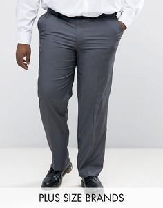 Серые брюки Duke PLUS - Серый
