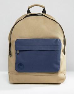 Рюкзак из парусины песочного цвета Mi-Pac - Бежевый