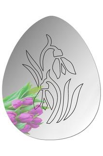 """Зеркало """"Пасхальный цветок 3"""" W-ERA"""