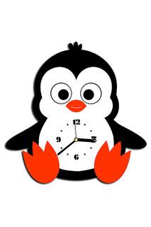"""Часы """"Пингвин"""" W-ERA"""
