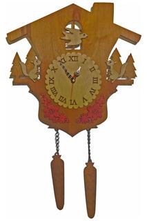 """Часы """"Лесной домик"""" W-ERA"""