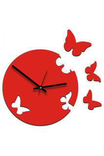 """Часы """"Живые бабочки"""" W-ERA"""