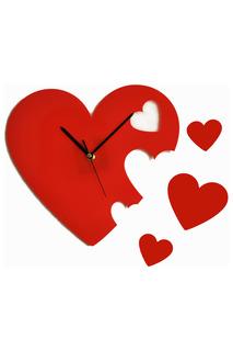 "Часы ""Сердечки"" W-ERA"