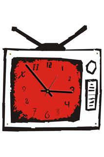 """Часы """"Телевизор"""" W-ERA"""
