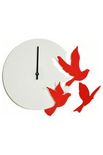 """Часы """"Летящие птицы"""" W-ERA"""