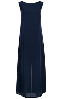 Длинное синее платье La Reine Blanche