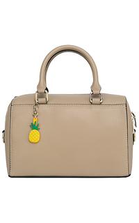 Бежевая кожаная сумка La Reine Blanche