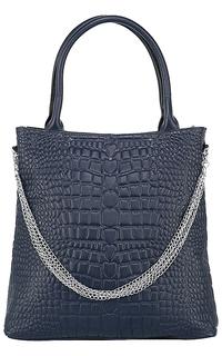 Кожаная сумка с цепочкой La Reine Blanche