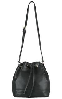 Кожаная сумка-мешок La Reine Blanche