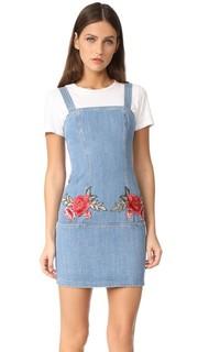Н/Nicholas с вышивкой мини-платье с цветочным рисунком