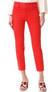 Укороченные брюки Cadence Alice + Olivia
