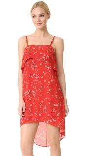 Платье без рукавов Reese с перепадами длины Alice + Olivia