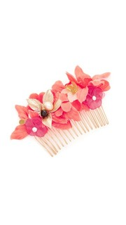Гребень для волос с тропическими цветами Lizzie Fortunato