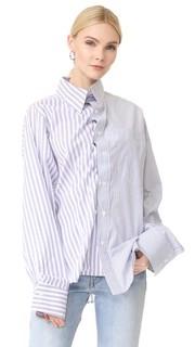 Рубашка в полоску Push Button