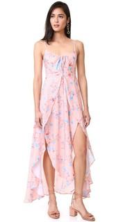 Платье с цветочным рисунком и оборками Somedays Lovin