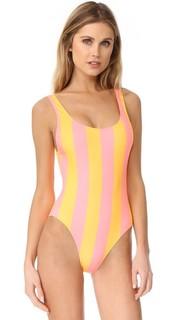 Сплошной купальник Anne Marie в полоску Solid & Striped