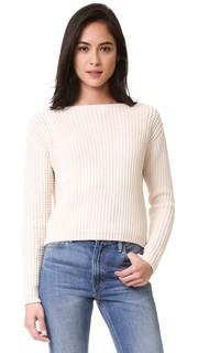 Пуловер со стежками с вафельной текстурой Vince