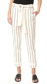 Практичные брюки с кулиской Derek Lam 10 Crosby