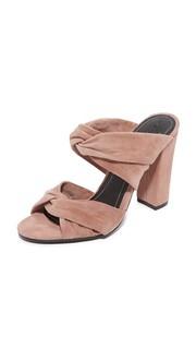Туфли без задников на среднем каблуке Kendall + Kylie